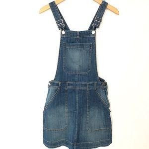 H&M &Denim Jeans Overalls Dress Women's 4